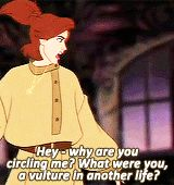 "Anastasia is wonderfully sassy and rough around the edges. | 25 Reasons ""Anastasia"" Is The Best Animated Film Ever"