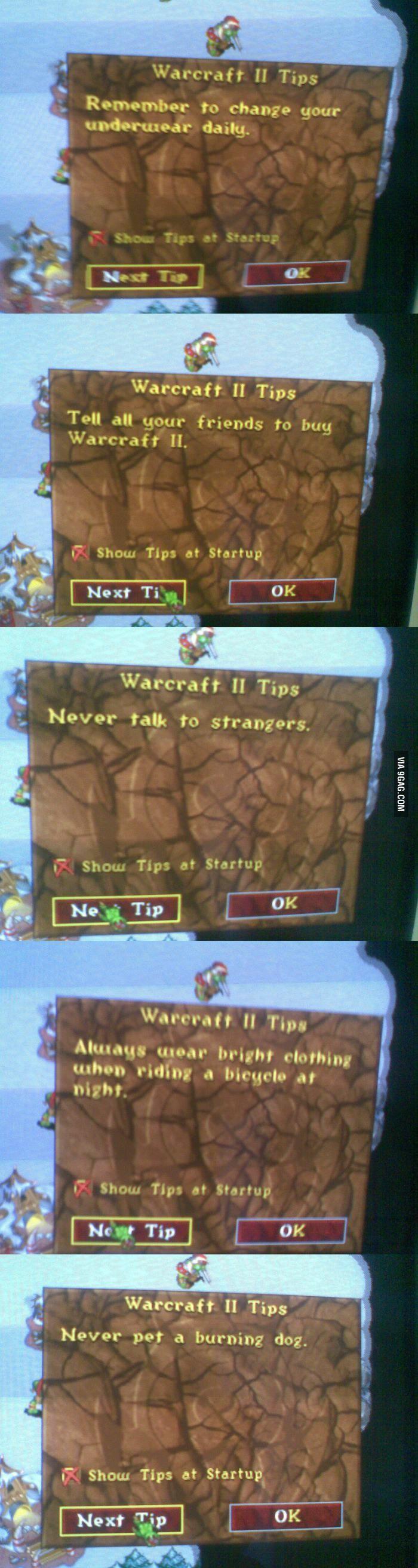 Warcraft II Tips - 9GAG