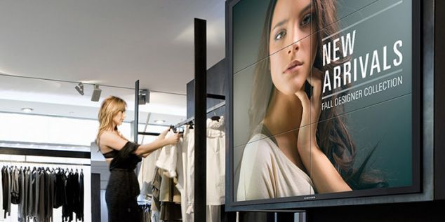 Retailers can now use Samsung's digital displays to track in-store customer behaviour | The Drum
