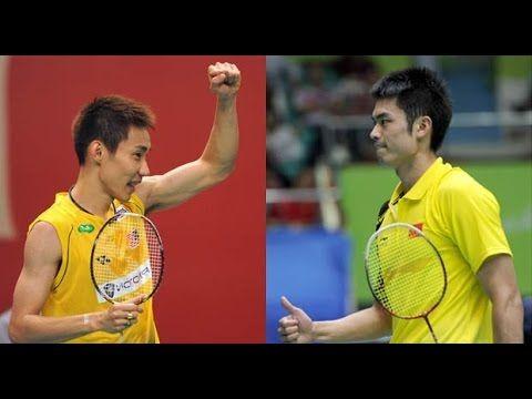 [HD] Semi Final - Lin Dan vs Lee Chong Wei - Badminton 17th Asian Games 2014 - YouTube