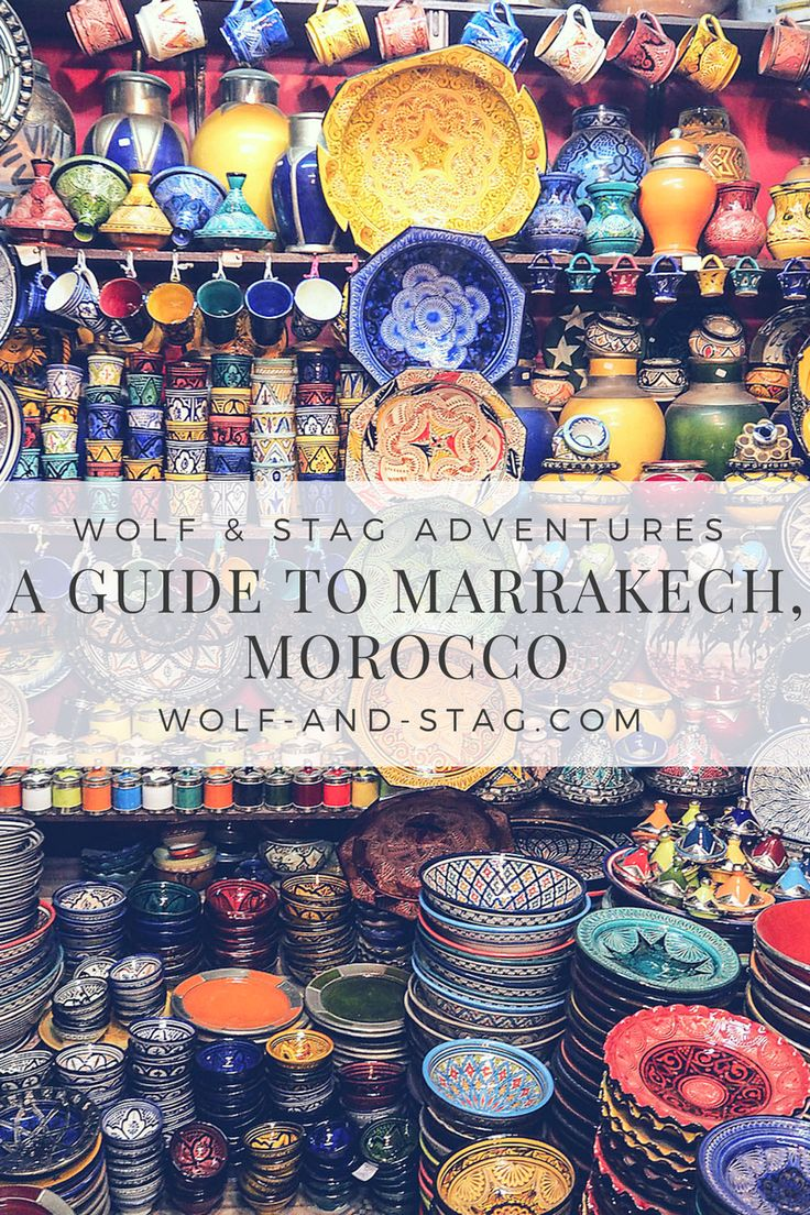 An essential travel guide to Marrakech, Morrocco | wolf-and-stag.com