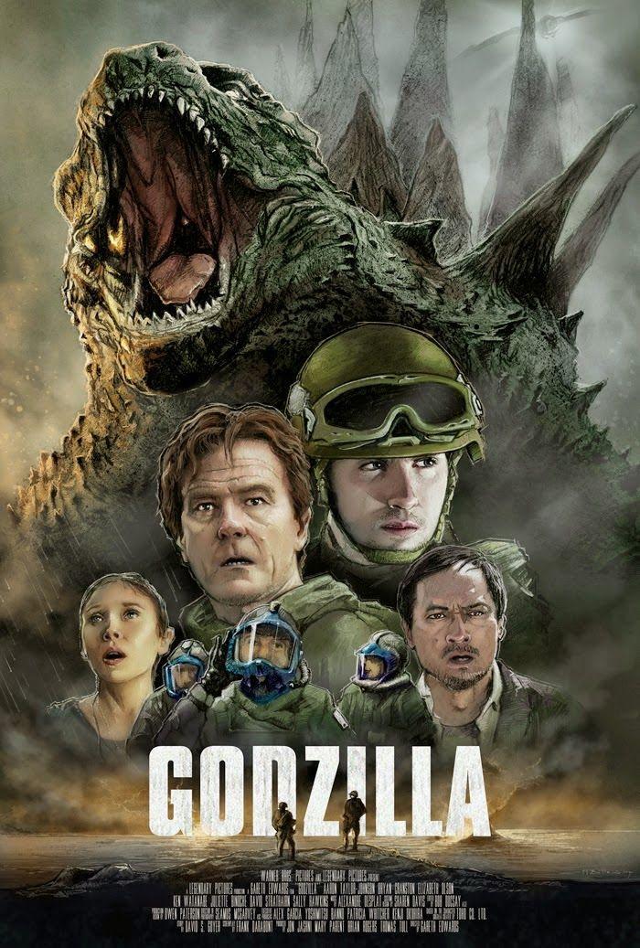 Godzilla Movie Trailer CGMeetup Community for CG Digital Artists