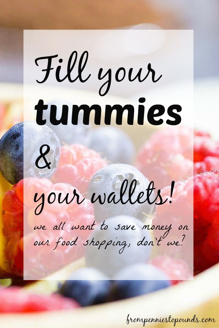 Tips on how to keep your tummy & wallets full! Money saving tips for food/grocery shopping. Click on the link: http://www.frompenniestopounds.com/save-money-foodgrocery-shopping-bill/