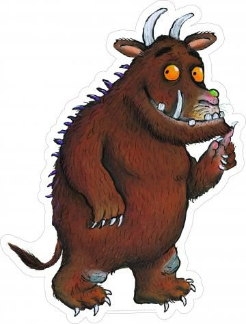 outdoor Gruffalo cut-out character
