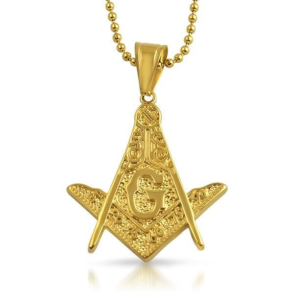 47 best gold pendant sets images on pinterest gold pendant gold perfect for the free masons out there made out of solid stainless steel and ip gold wrapped to look and feel real order your gold hip hop pendant today aloadofball Choice Image