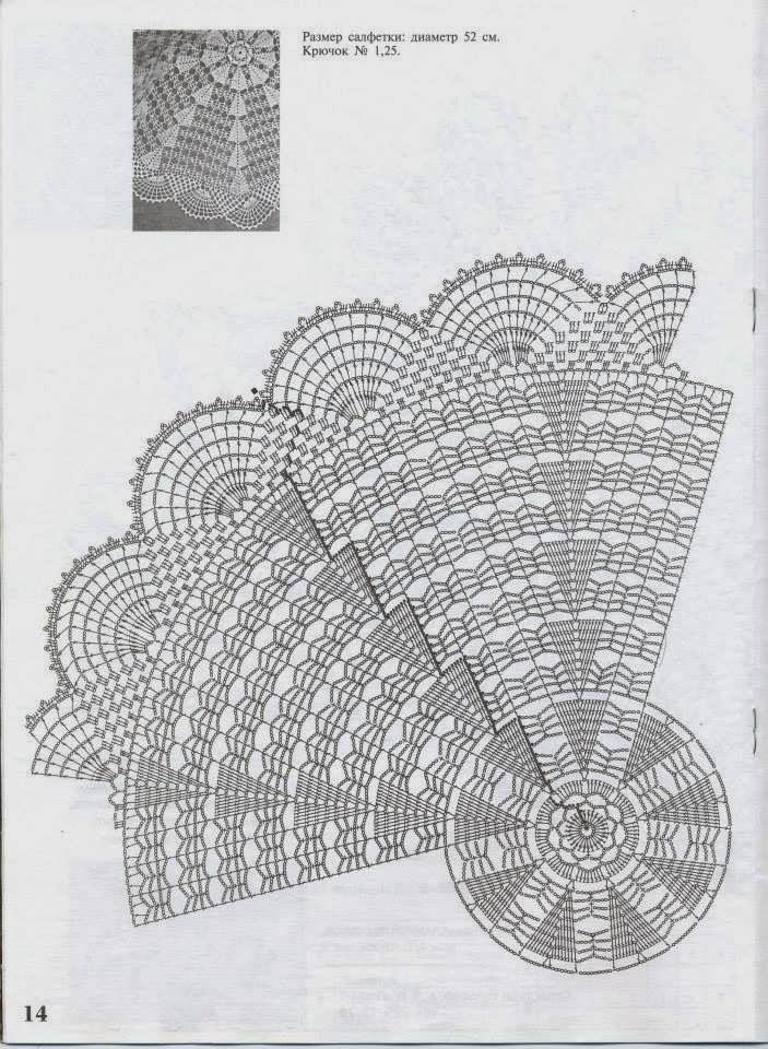 67 best crochet foto s návody images on Pinterest | Doilies crochet ...