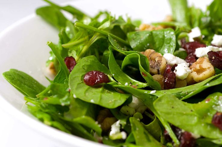 food pictures | Recipe for Spinach, Arugula, Cranberry and Walnut Salad at Lifes ...