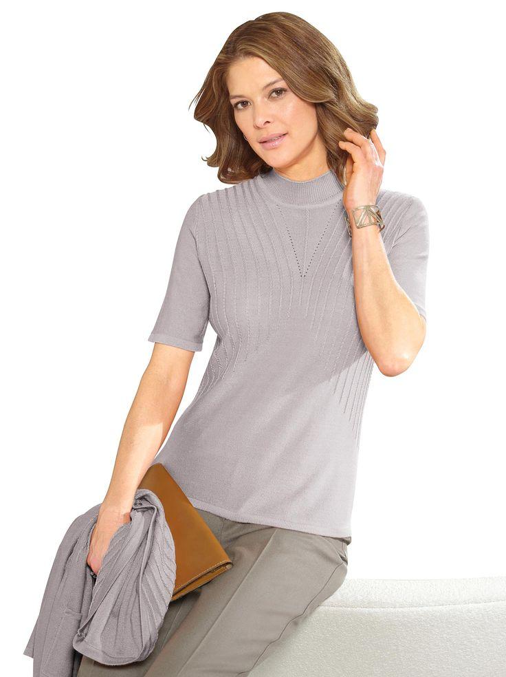 Pullover in silbergrau 24,99 € kaufen bei WITT WEIDEN – 198.891.008