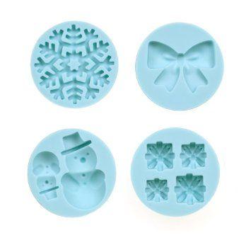 Martha Stewart silicone mold - 43-00029 - Christmas