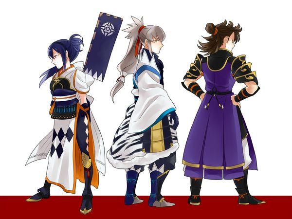 Fire Emblem: If/Fates - Takumi and his retainers(Oboro, Hinata)