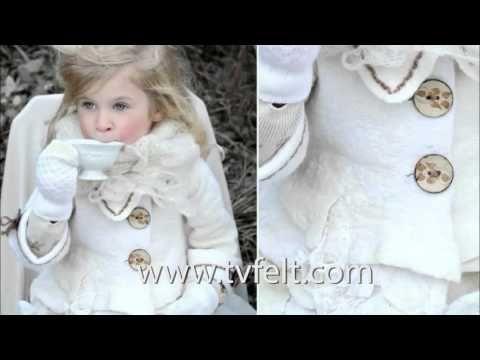 Nunofelted vest with Svetlana Vronskaja Videotutorial