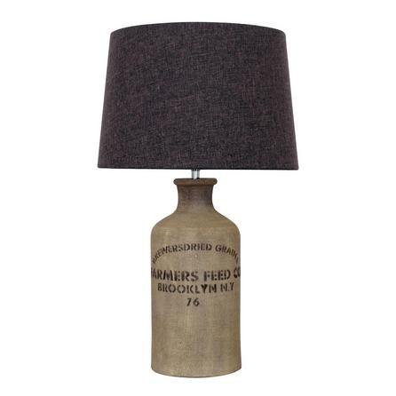 Albury Jute Sack Table Lamp