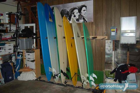 esurfboard racks do it yourself diy surfboard racks rangement pinterest diy planche de. Black Bedroom Furniture Sets. Home Design Ideas