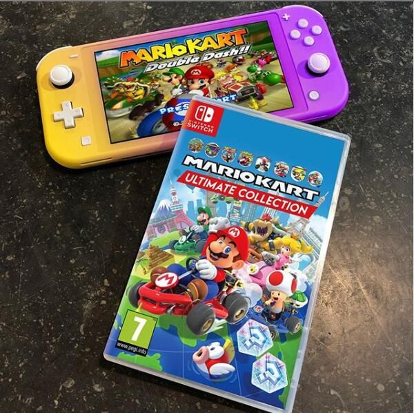 Everyone S Always Discussing What The Best Mariokart Is Why Not Put All Games In One Nintendo Switch Accessories Nintendo Switch Games Nintendo Switch System