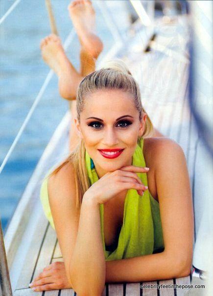 #Greek #host and #singer @NadiaBoule (Picture 1/2) #Greece
