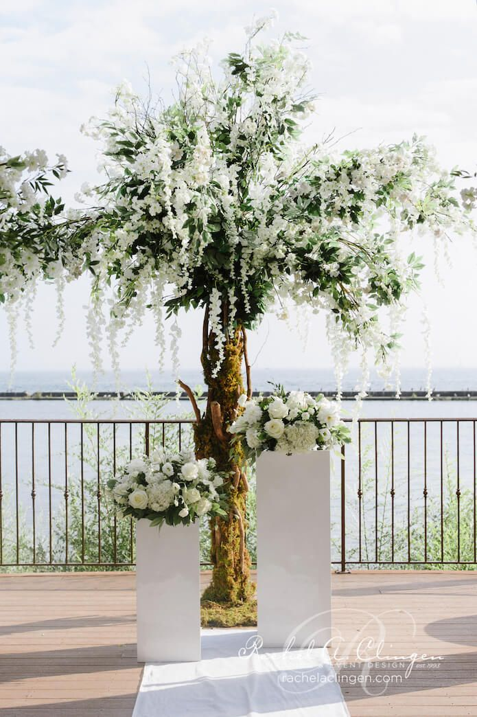 8 best wedding trees florals by rachel a clingen images on thao alex hanging wisteria wedding tree palais royale wedding decor toronto rachel a junglespirit Images