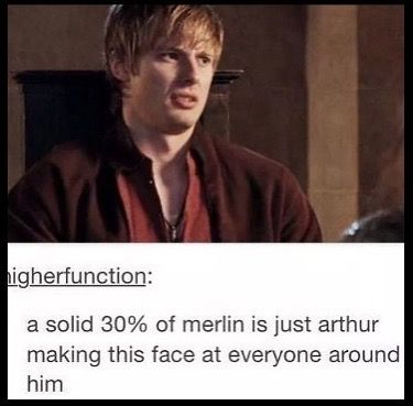 Arthur's facial expressions are life