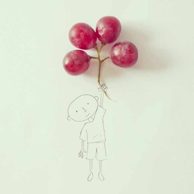 Objects Turned into Illustrations by Javier Perez
