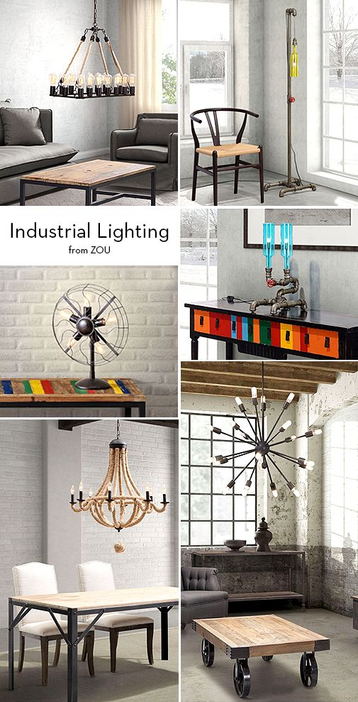 Industrial Style Is Full Of Steam   Star Furniture Blog #furniture  #interiordesign #industrial