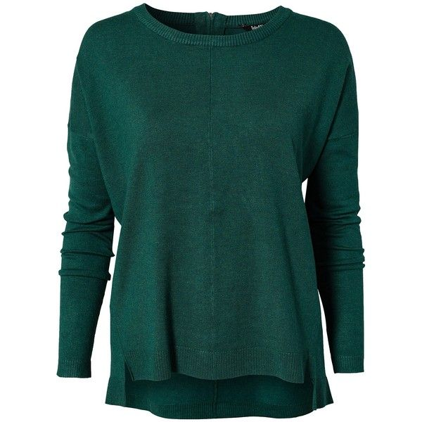 M By M Figure Freemantop ($90) ❤ liked on Polyvore featuring tops, green, jumpers & cardigans, womens-fashion, mbym, zip up top, sleeve top, tall tops and green top