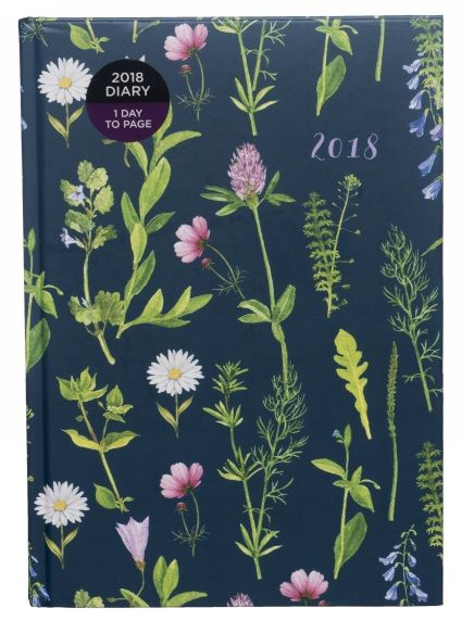 Buy WHSmith 2018 A5 Floral Meadow on Navy Blue Board Diary Day to Page From WHSmith today! FREE delivery to store or FREE UK delivery on all orders over...