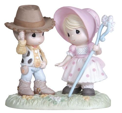 ★ New Precious Moments Disney Figurine Toy Story Woody Little Bo Peep Cowboy   eBay