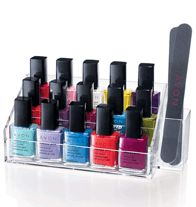 Avon Nail Enamel Caddy, $9.99.  Shop with me http://victoriaaguila.avonrepresentative.com/