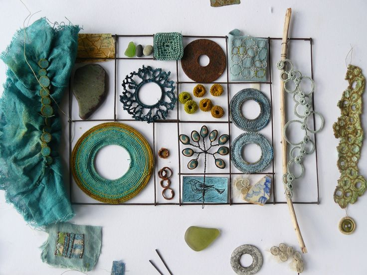 found &  made collection -Liz Cooksey