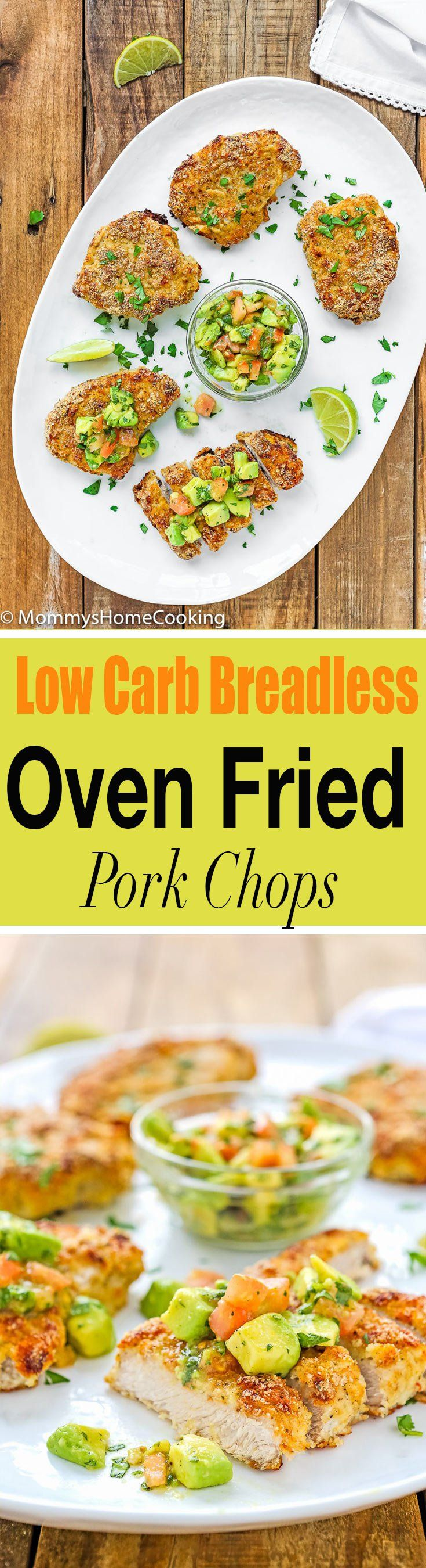 Skinny Oven Fried Pork Chops