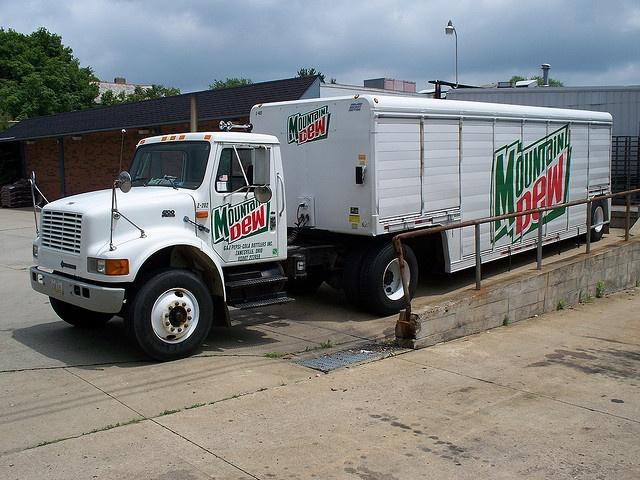 Mountain Dew Truck Trucks, Mountain dew, International