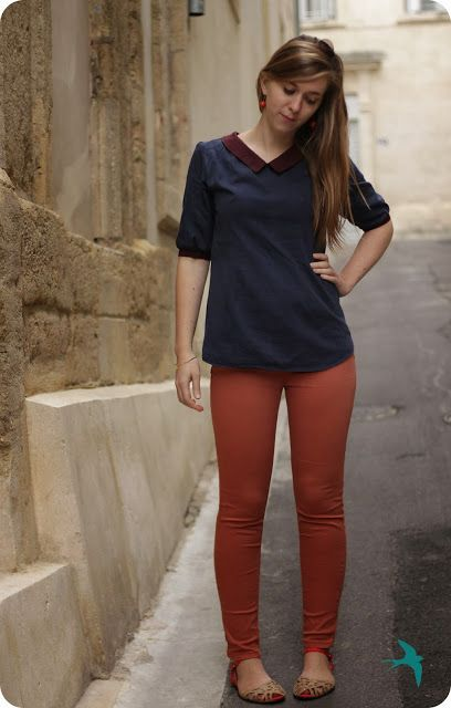 Deer and doe airelle blouse