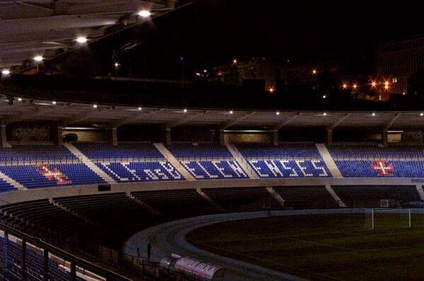 Estádio do Restelo by night