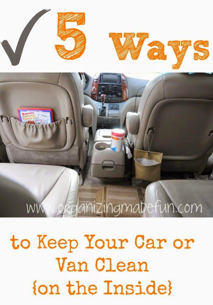 5 Ways To Keep Your Car Or Van Clean