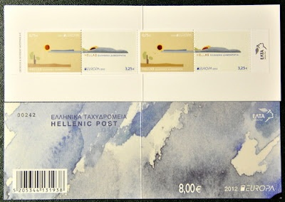 Europa stamps: Greece 2012