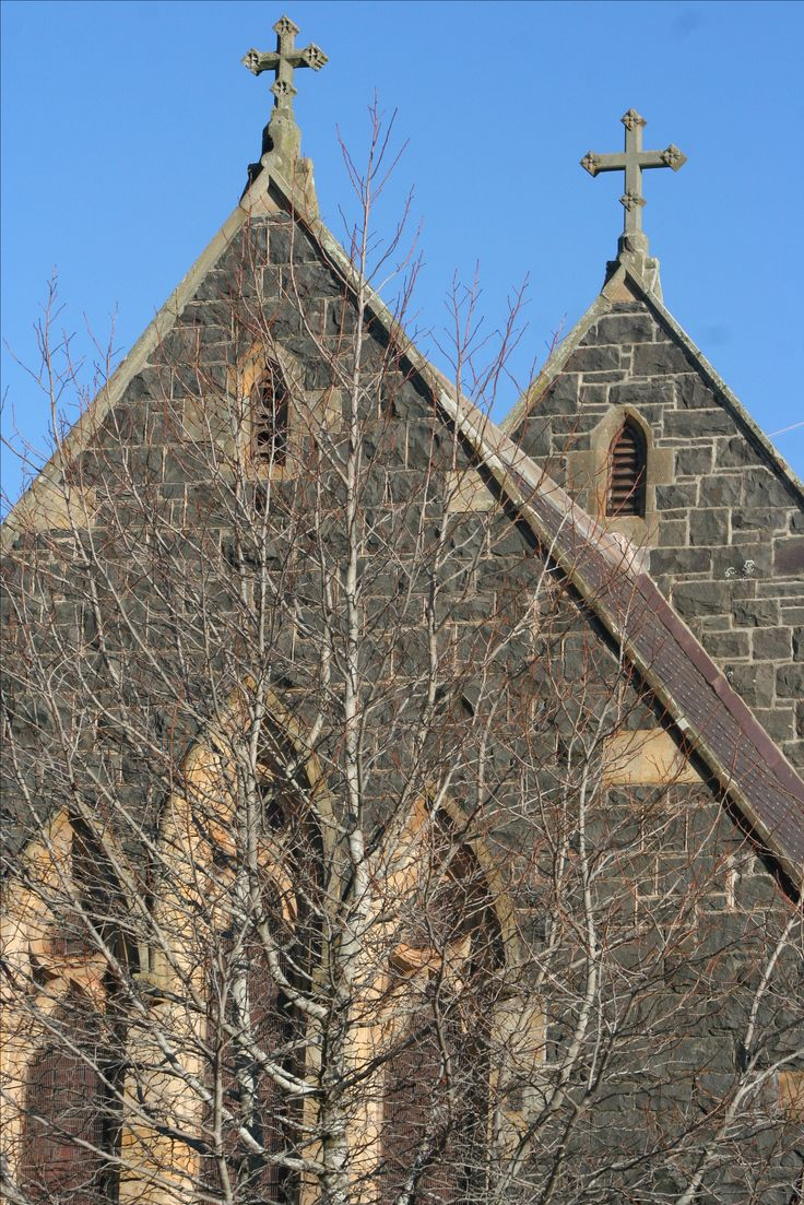 Nearly 200yrs old.Churches of Tasmania www.theoldfrenchdoors.blogspot.com