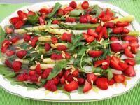 Rezept Spargel-Erdbeer-Salat von Miche - Rezept der Kategorie Vorspeisen/Salate