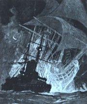 UNIVERSO INSÓLITO: El holandés errante Este buque fantasma ha sido v...