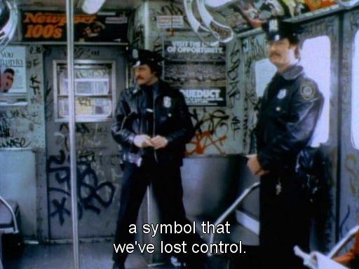 #subway #art #graffiti #cops #80s #nyc #newyork #stylewars  Rickard Nilsson