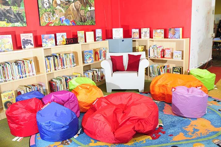 library interiors elementary - Google Search