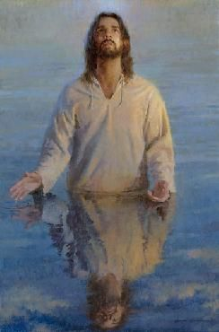 """Morgan Weistling - """"The Reflection of God."""" ...he that hath seen me hath seen the Father... John 14:9"""