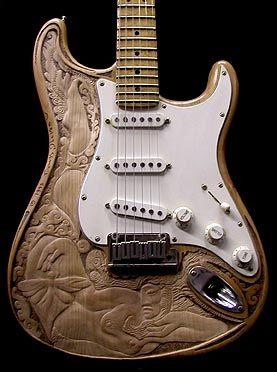 Sculpted Guitar. Fender USA 1993. Alder Wood............beautiful