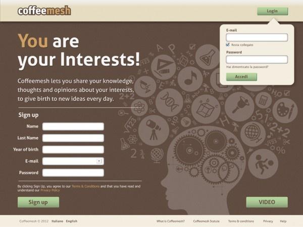 Coffeemesh un Interest-Chat Network tutto italiano