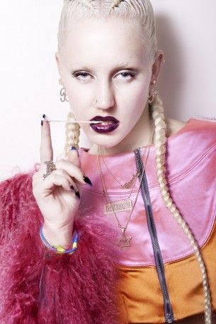 Schön! Magazine  |  Photography Vincent Urbani - Model Brooke Candy