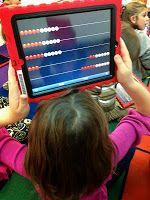 FREE math apps! Rekenrek and geoboard! Love!