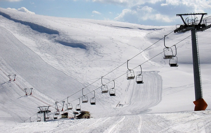 Seli, is a family friendly ski resort near #Thessaloniki, #Greece