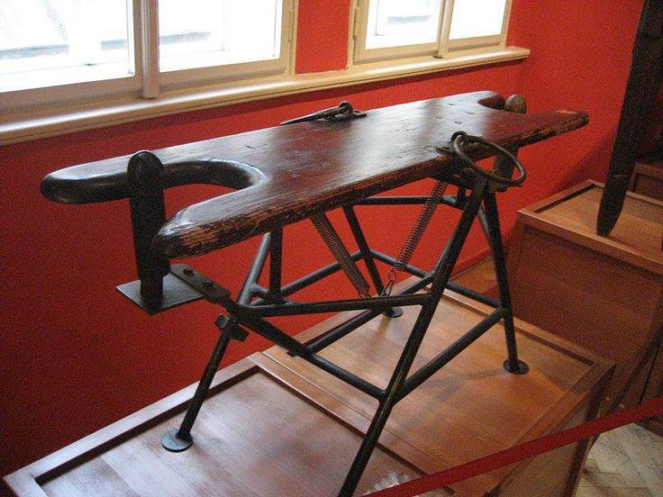 A seesaw-like device in the Sex Machines Museum in Prague. LoL