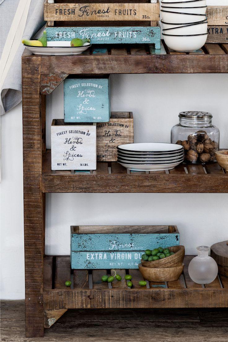 Dřevěná krabička | H&M