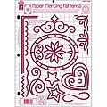 Hot Off the Press Paper Piercing Patterns Template | Overstock.com Shopping - The Best Deals on Templates & Stencils