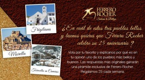 25 Aniversario Ferrero Rocher