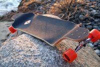 Atom Drop Deck Longboard Orange, 41 Inch
